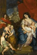 Portrait of Queen Maria Casimire with children 1684  The Wilanow Palace Museum