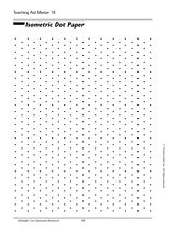 Free printable: Isometric Dot Paper - great for math and art ...