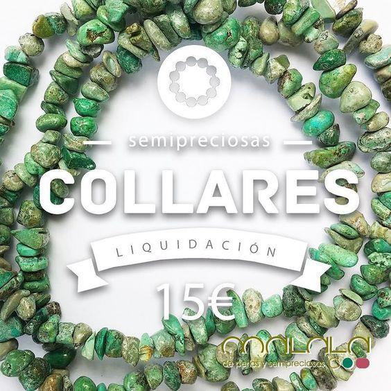 Seguimos de #liquidación por renovación de stock. #collares de #turquesas a 15  #necklace #accesorios #complementos #DiseñosPropios #especial #fashionblogger #handmadejewel #hechoamanoconamor #instamode #jewelry #joyas #joyasdediseño #joyasunicas #joyeriadeautor #ponteguapa #regalosconencanto #specialgift #natural #personalizado #piedrassemipreciosas #regalo