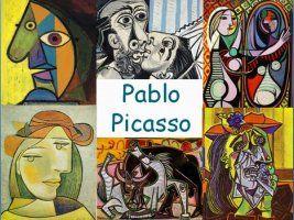 Leuke en informatieve powerpoint over Pablo Picasso voor 5, deze en nog vele andere kun je downloaden op de website van Juf Milou.