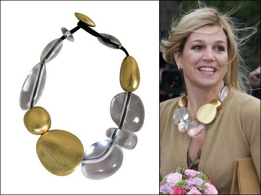 Necklace from Moonies. (Photos from Royal Press Europe)