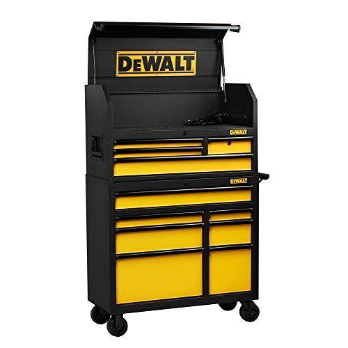 Dewalt Dwmt78074 Rolling Tool Cabinet Set 40 In 11 Drawer Tool Chest Storage Organizer Tool Chest Dewalt Drawers