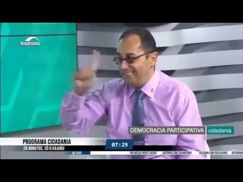 Na Tv Senado Kajuru E O Primeiro Senador Goiano Entrevistado Em