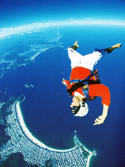 Adrenalina #paracaidismo
