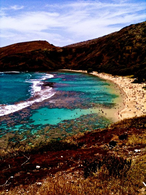 Hanauma Bay, Hawaii - CHECK! Been here :)