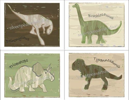 Dino wall pics