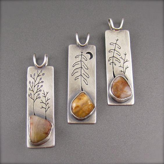 Jewelry | Jewellery | ジュエリー | Bijoux | Gioielli | Joyas | Art | Arte | Création Artistique | Precious Metals | Jewels | Settings | Textures |  Mixed Metal Jewelry! beth millner