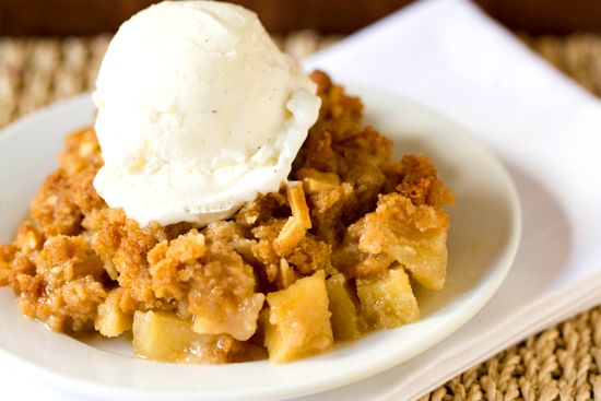 Almond-Apple Crisp