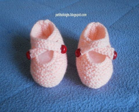 Petits doigts: Chaussons ballerines M79