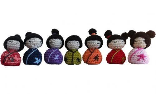 Kokeshi Amigurumi Free Pattern. amigurumis Pinterest ...