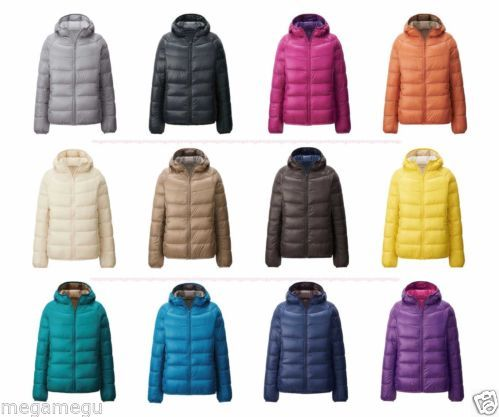 Canada Goose 2016 - Brand New UNIQLO Women Ultra Light Hood Down Jacket 12 Colors From ...