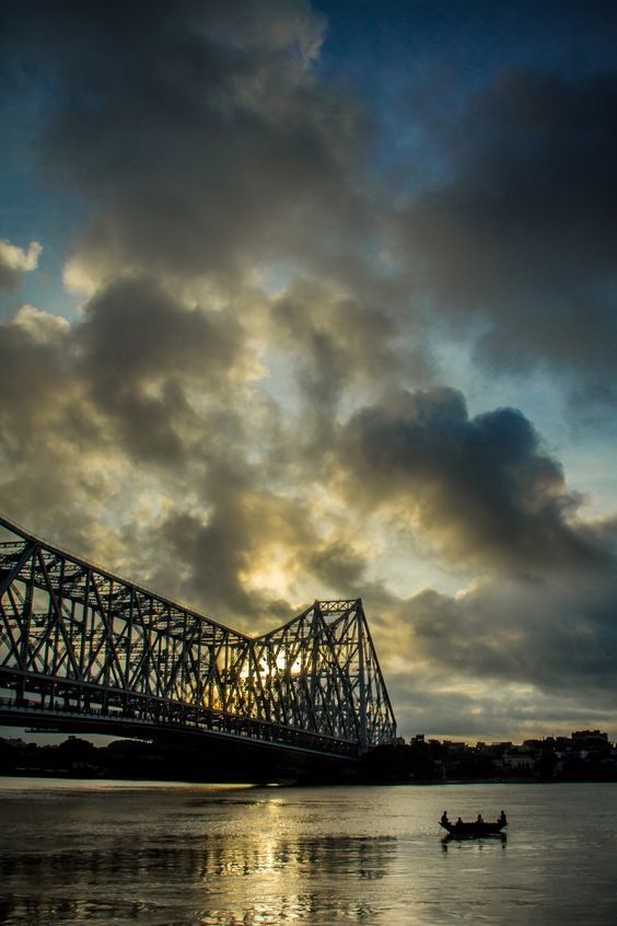 River View Of Howrah Bridge