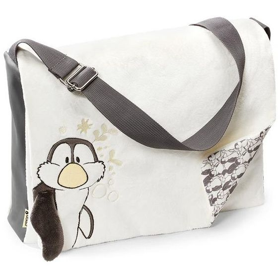 NICI - Ice Guys Penguin Shoulder Bag - Plushpaws.co.uk found on Polyvore