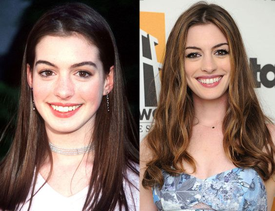 celebrity look anne hathaway and high schools on pinterest