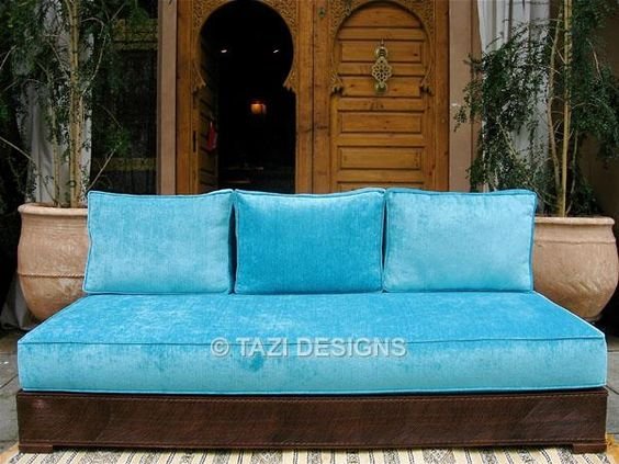 Moroccan sofa Home Decor Pinterest Upholstery and