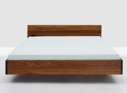 simple hi bed from suite new york bedroom better living through design beacon bliss pinterest wood beds solid wood and cherries - Wooden Bed Frames