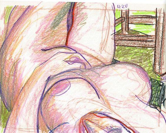 Chloe 15 minute sketch