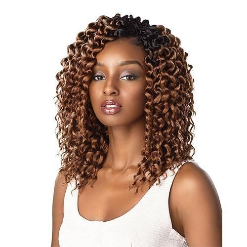Sensationnel Lulutress Crochet Braid 2x Island Twist 8 Curly