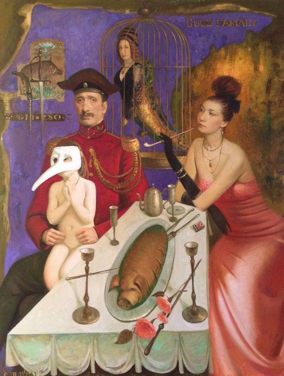 Igor Samsonov | Oil | Good Family: