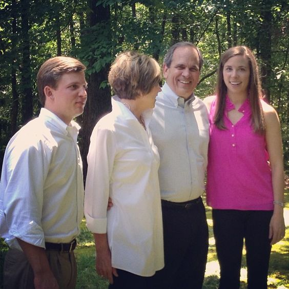 The Reicherts, all together. Everyone loves a candid.