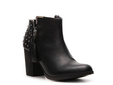 diba ring back studded bootie ankle boots booties