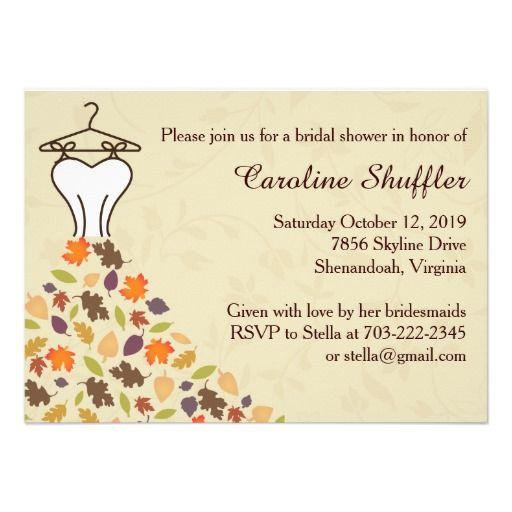1000 images about Autumn Wedding Invitations auf Pinterest