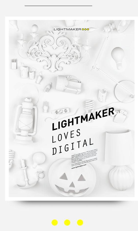 Lightmaker by Constantine Gavrykov, via Behance