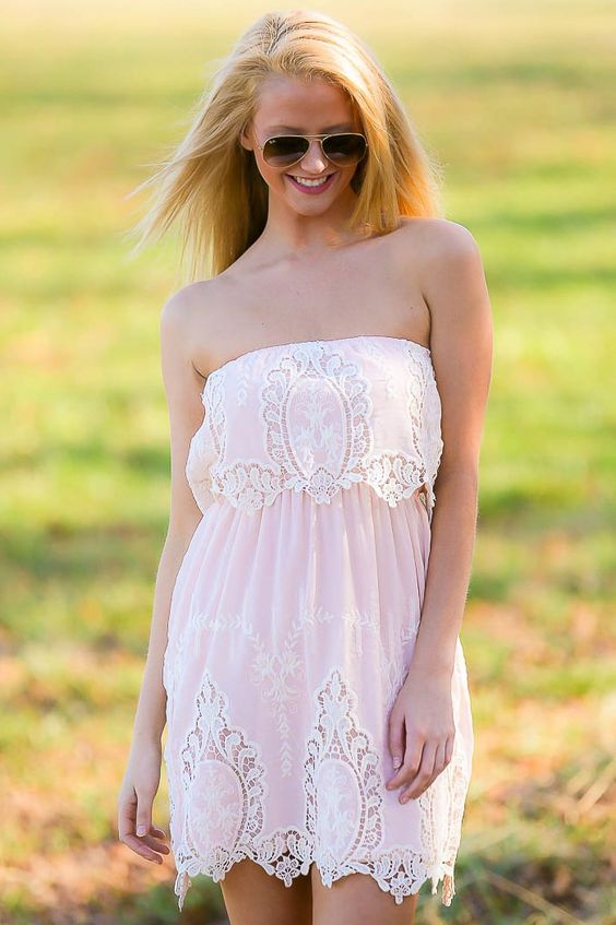 It Had To Be You Dress-Blush - $48.00