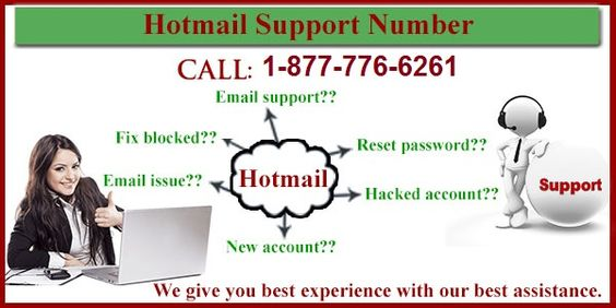 Just dial our Hotmail Support Number 1-877-776-6261 toll-free number and shoot out all type of Hotmail trouble such as : login issue, security issue, privacy issue etc. Our Hotmail Support Number is available 24*7 for provide services.http://www.monktech.net/hotmail-tech-support-phone-number.html