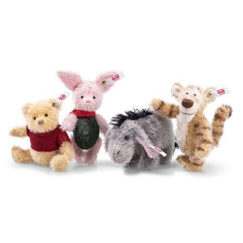 Winnie the Pooh /& Friends Toys Bear Eeyore Tigger Piglet set of 4 figures