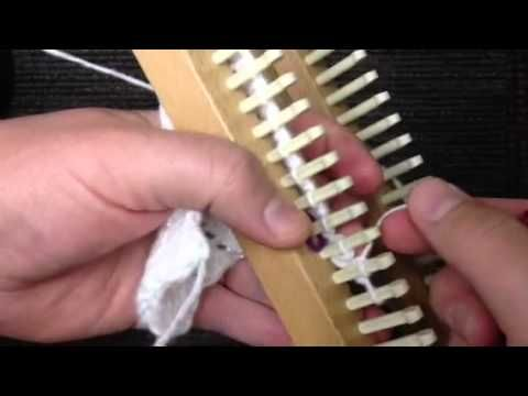 How To Increase Stitches On A Knitting Loom : Lace, Shawl and Videos on Pinterest