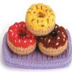 Amigurumi Donut Patron : PATRON GRATIS DONUT AMIGURUMI 18357 (PATRONES AMIGURUMIS ...