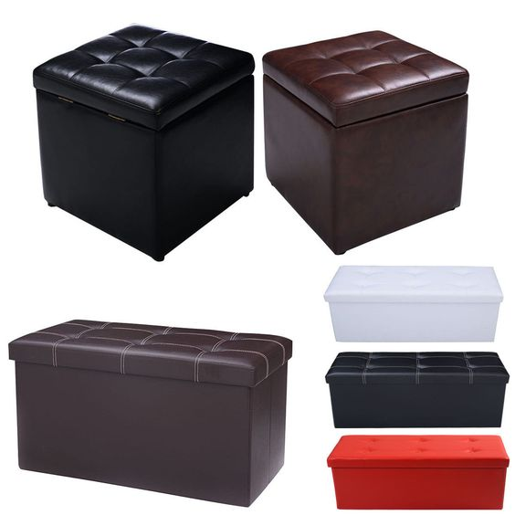Best Of Brown Leather Foot Stool