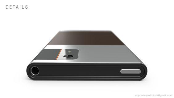 SONY Smartphone by Stéphane Pietroiusti, via Behance
