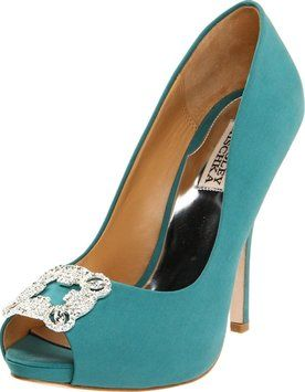 Badgley Mischka Women Gayla 6 Jade, Green, Blue Pumps. Get the must-have pumps of this season! These Badgley Mischka Women Gayla 6 Jade, Green, Blue Pumps are a top 10 member favorite on Tradesy. Save on yours before they're sold out!