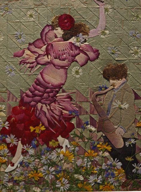 Pressblumen-kunst, Blumen Kunst and Blume on Pinterest