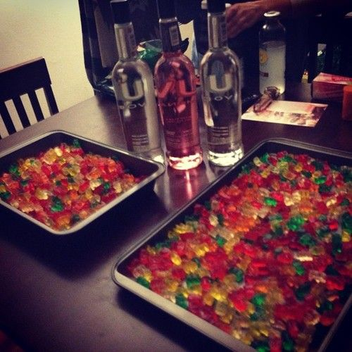 how to make gummy bears with vodka