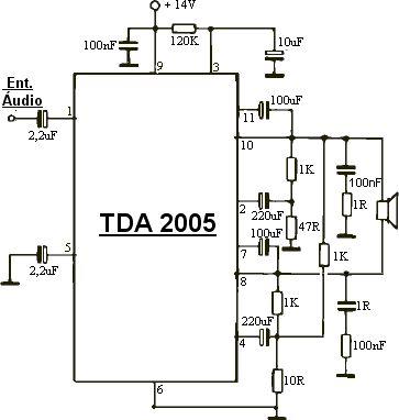 Amplificador 30 W