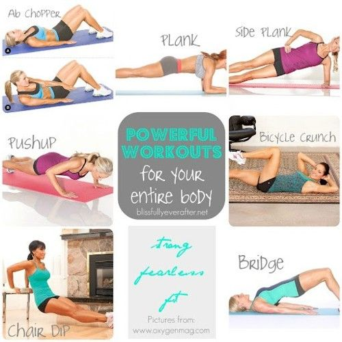 Powerful Workouts for Your Entire Body