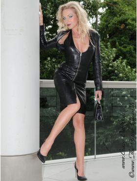 Lederkleid DS-031 : Crazy-Outfits - Webshop für Lederbekleidung, Schuhe & mehr.