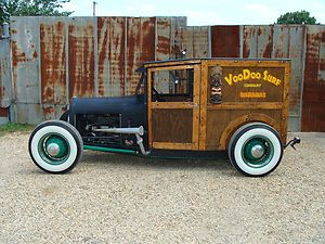 Rat rod woody