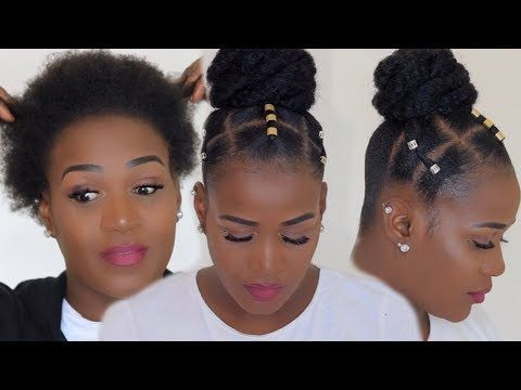 I Can T Cornrow Watch This Easiest Method 4c Hair Protective Style Natural Hair Styles Protective Hairstyles For Natural Hair Short Natural Hair Styles