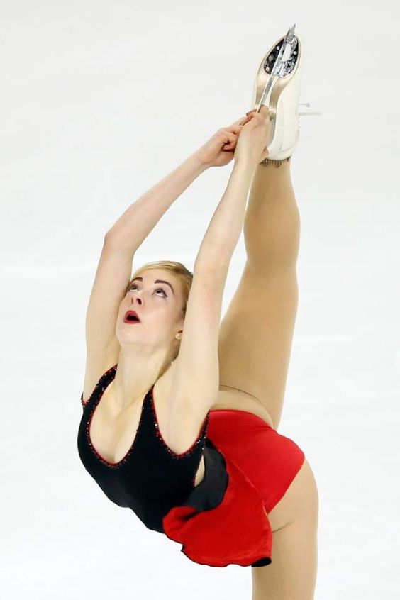 Gracie Gold at the Trophée Éric Bompard, November 13, 2015
