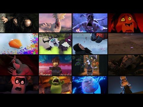 Favorite Animated Movie Villains Defeats And Deaths Youtube In 2020 Animated Movies The Simpsons Movie Disney Records