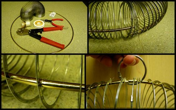 how to make your own slinky