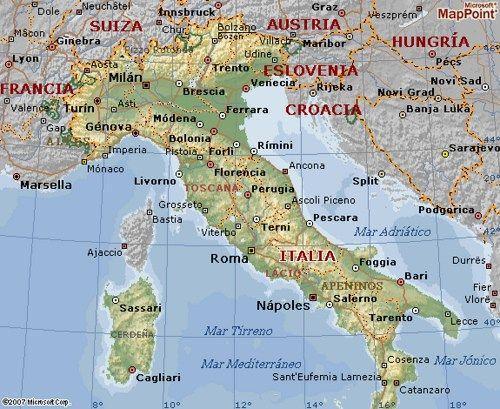 Mapa De Italia Completo Y Detallado Con Regiones Provincias Y Ciudades Blogitravel Viajes Y Turismo Informaci Mapa De Italia Mapa De Roma Italia Ciudades