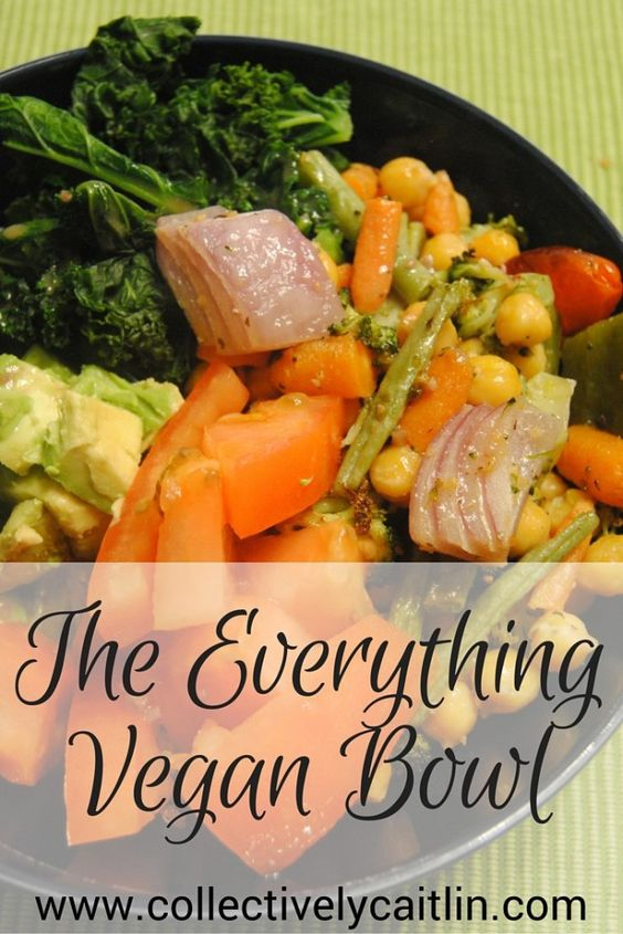 The Everything Vegan Bowl - Collectively Caitlin