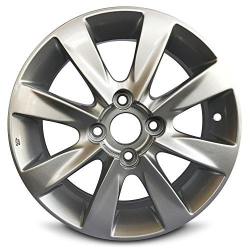 New 14x5 5 Hyundai Accent 12 14 4 Lug 5 Spoke Gray Alloy Rim Full Size Replacement Alloy Wheel Hyundai Accent Alloy Wheel Wheel