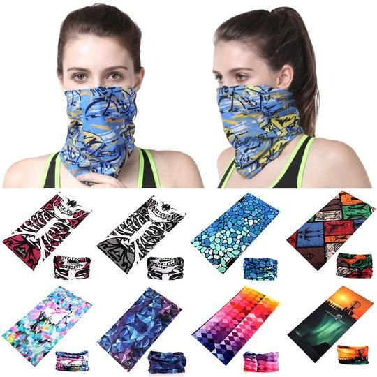 Magic Headwear Beautiful Floral Outdoor Scarf Headbands Bandana Mask Neck Gaiter Head Wrap Mask Sweatband