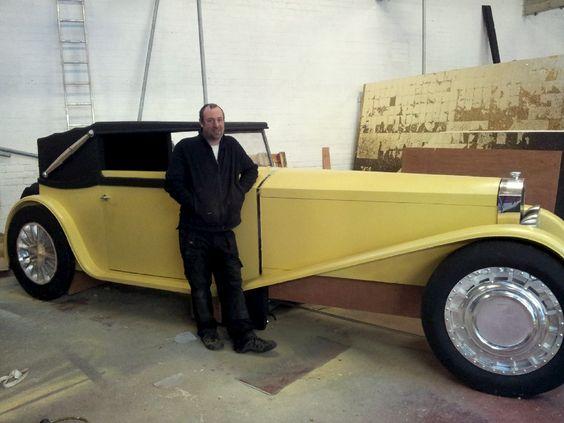 Gatsby Bugatti replica stunt car